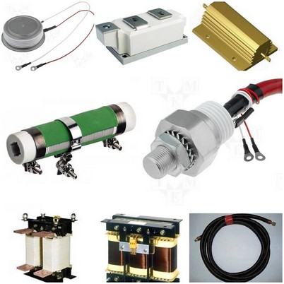 Spare parts for furnaces and heaters